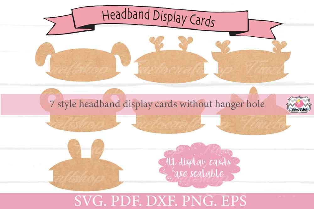 Animal Ears Headband Display Card Bundle example image 3