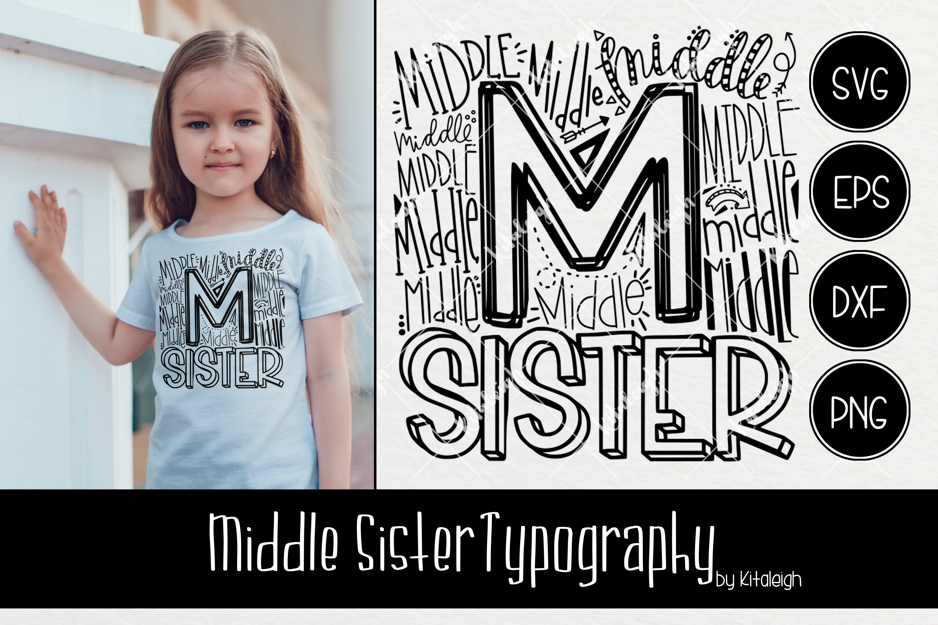 Sibling Typography Bundle example image 9