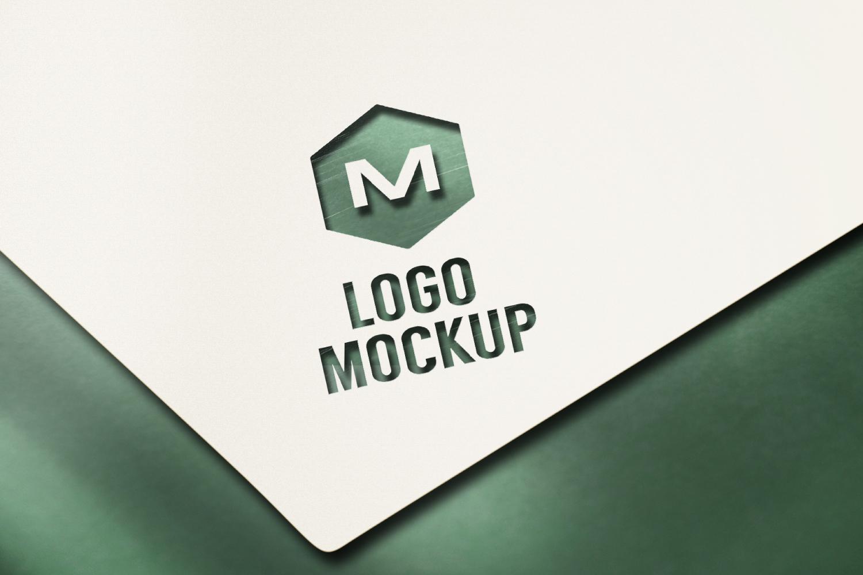 8 logo mockups, 3d wall mock up example image 4
