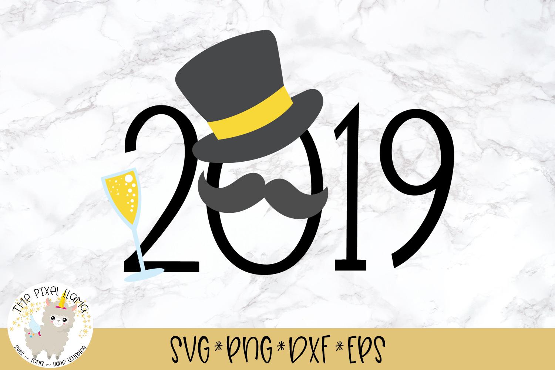 2019 Masquerade Mustache SVG Cut File example image 1