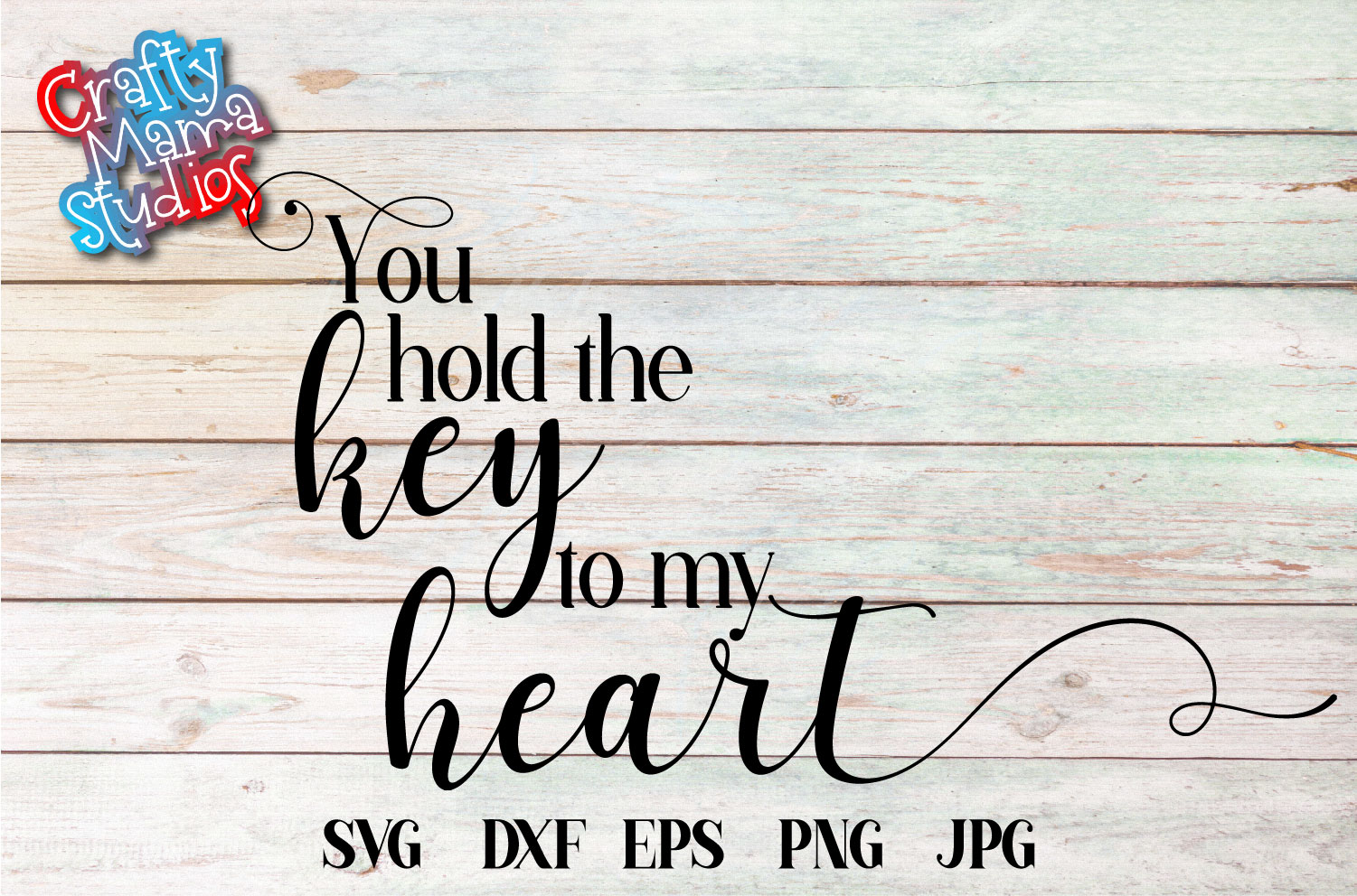 You Hold The Key To My Heart SVG, Wedding, Love Sublimation example image 2