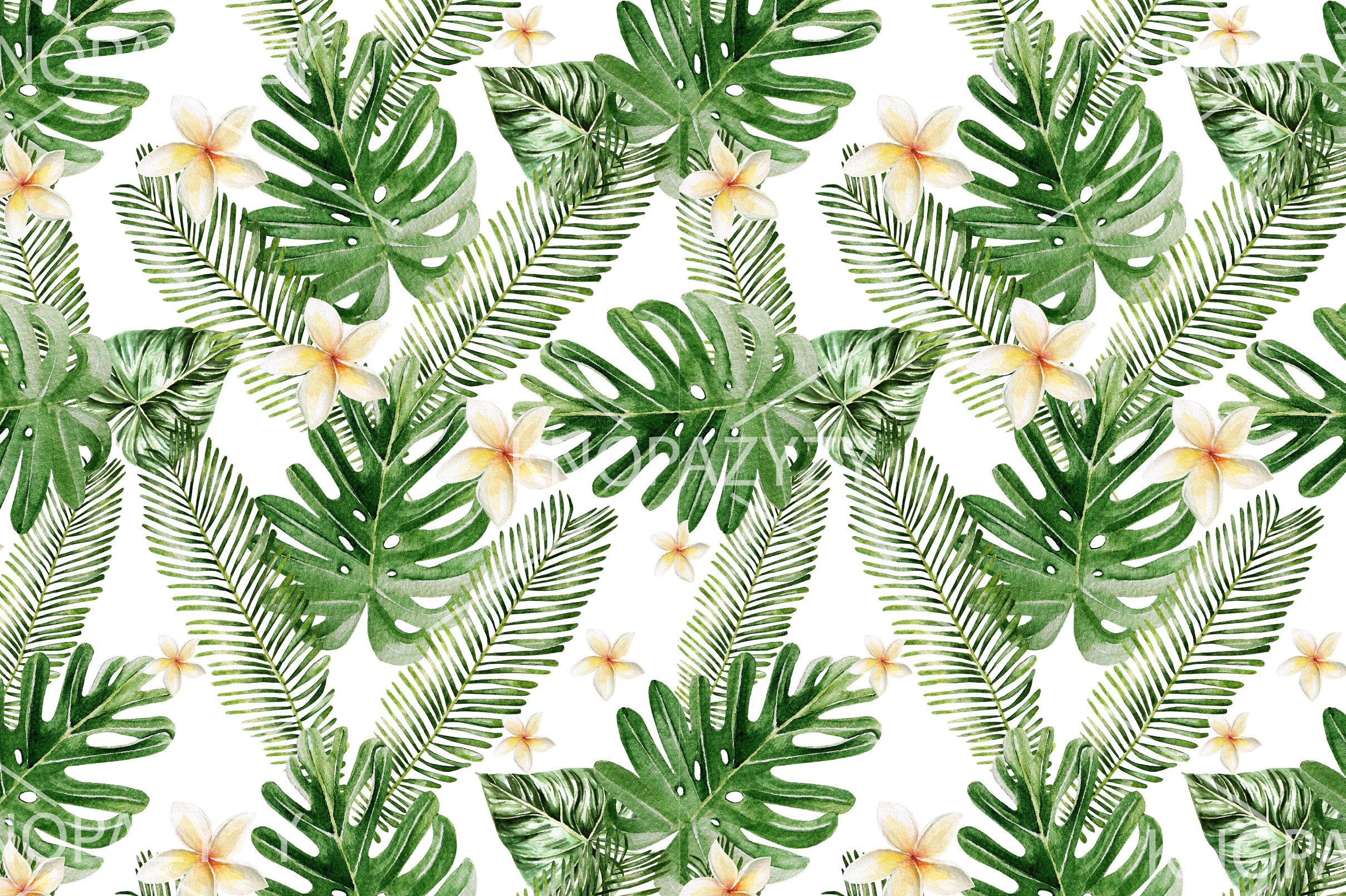 16 Hand Drawn Watercolor Pattern example image 12