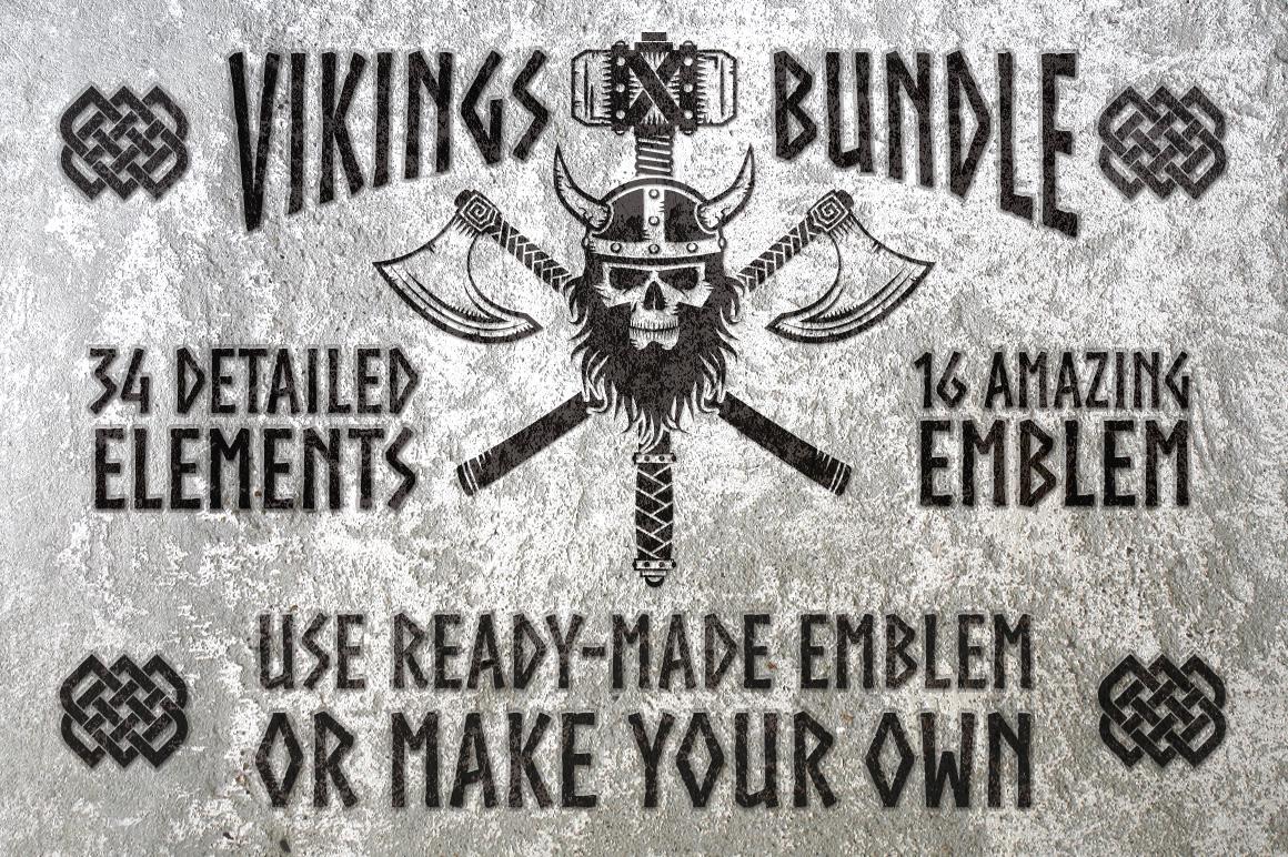 Vikings Bundle example image 1