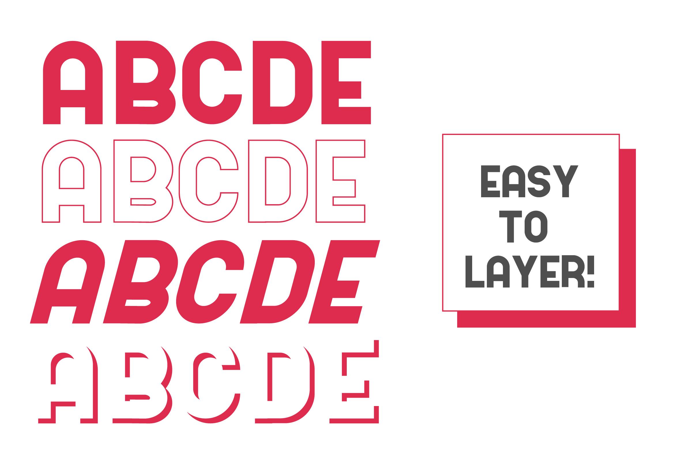 Kodek Typeface example image 2