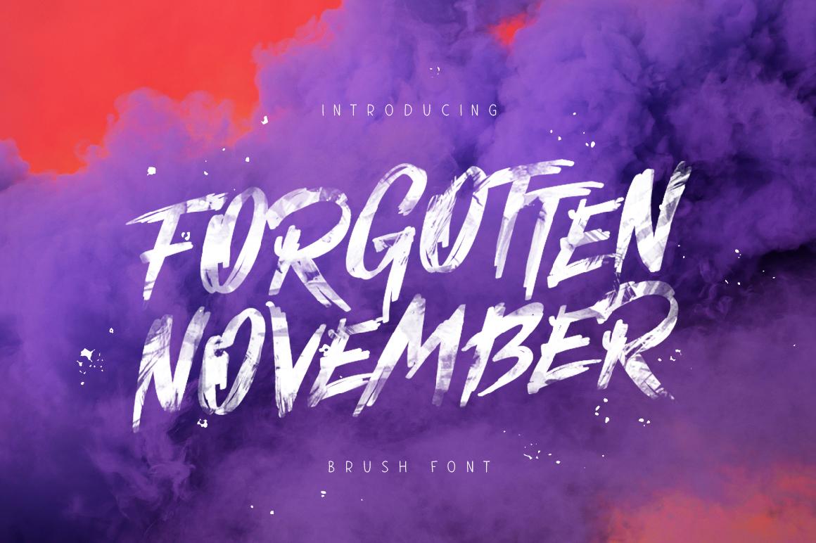 Forgotten November example image 1