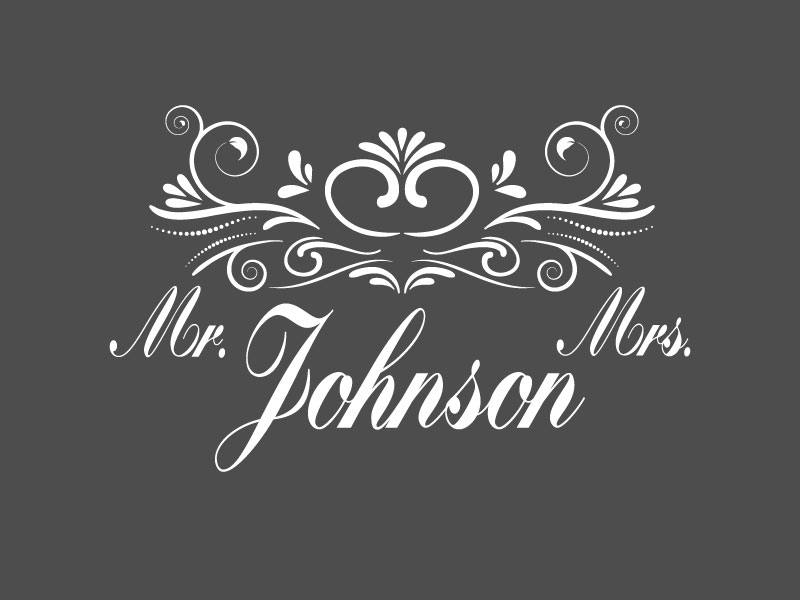 Mr & Mrs  Svg Dxf Png Jpg Eps vector file Cut Files example image 2
