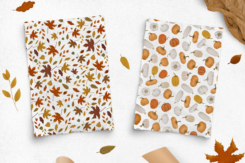 Cozy autumn clipart example image 5