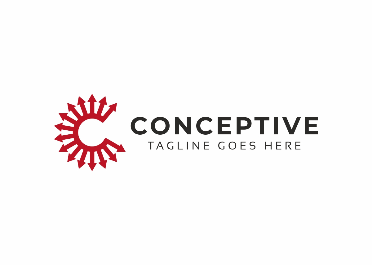 Conceptive C Letter Logo example image 3