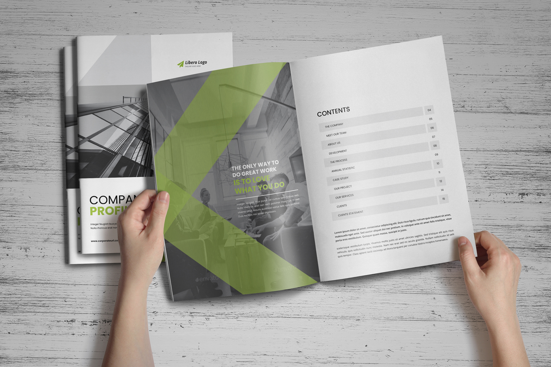 Company Profile Brochure v7 example image 16