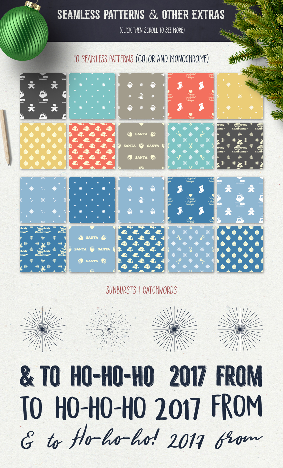 Christmas Bundle | Holiday Svg Crafters, cut files, svg png example image 3