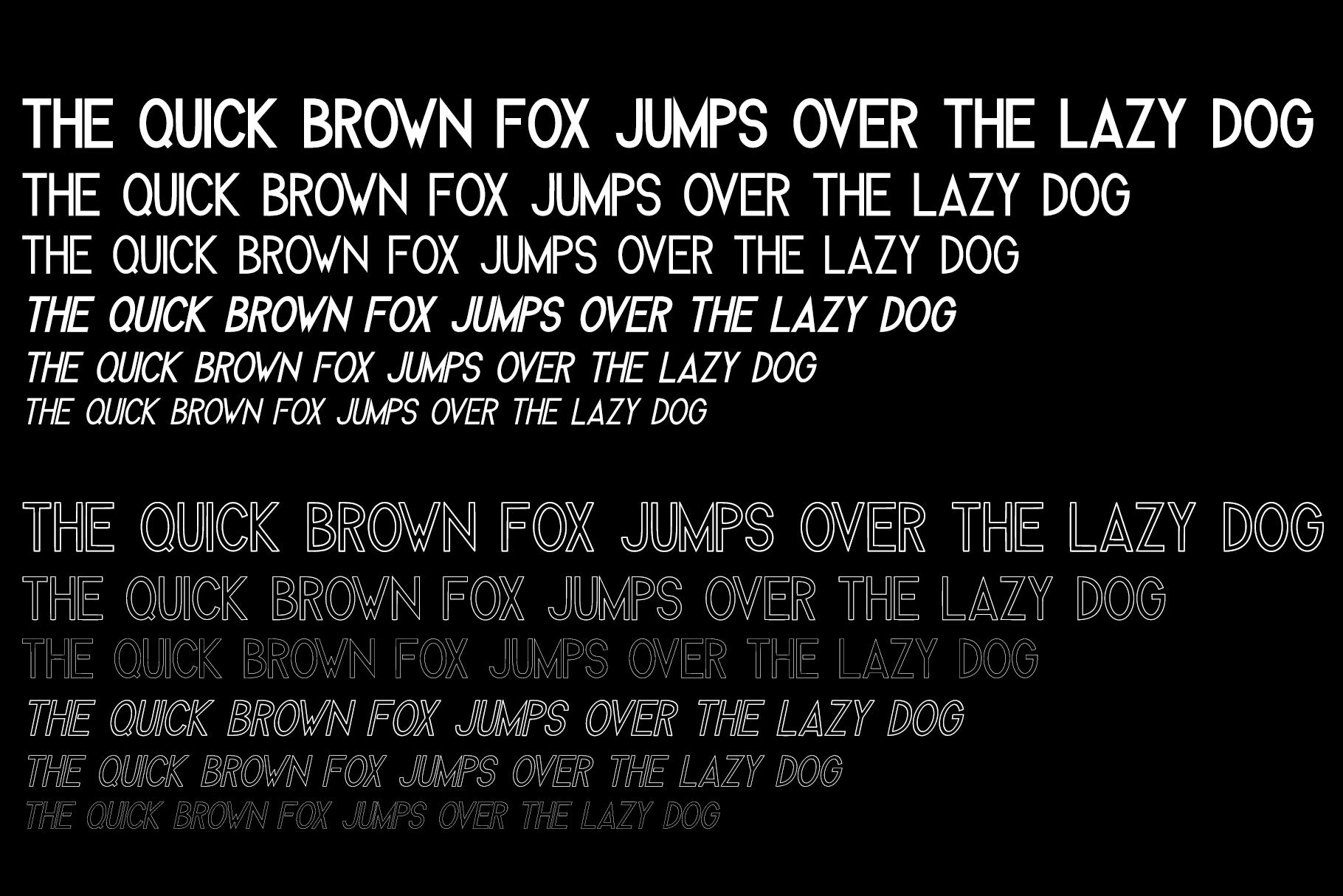 Melvick - 12 Font Family & EXTRA LOGO example image 12