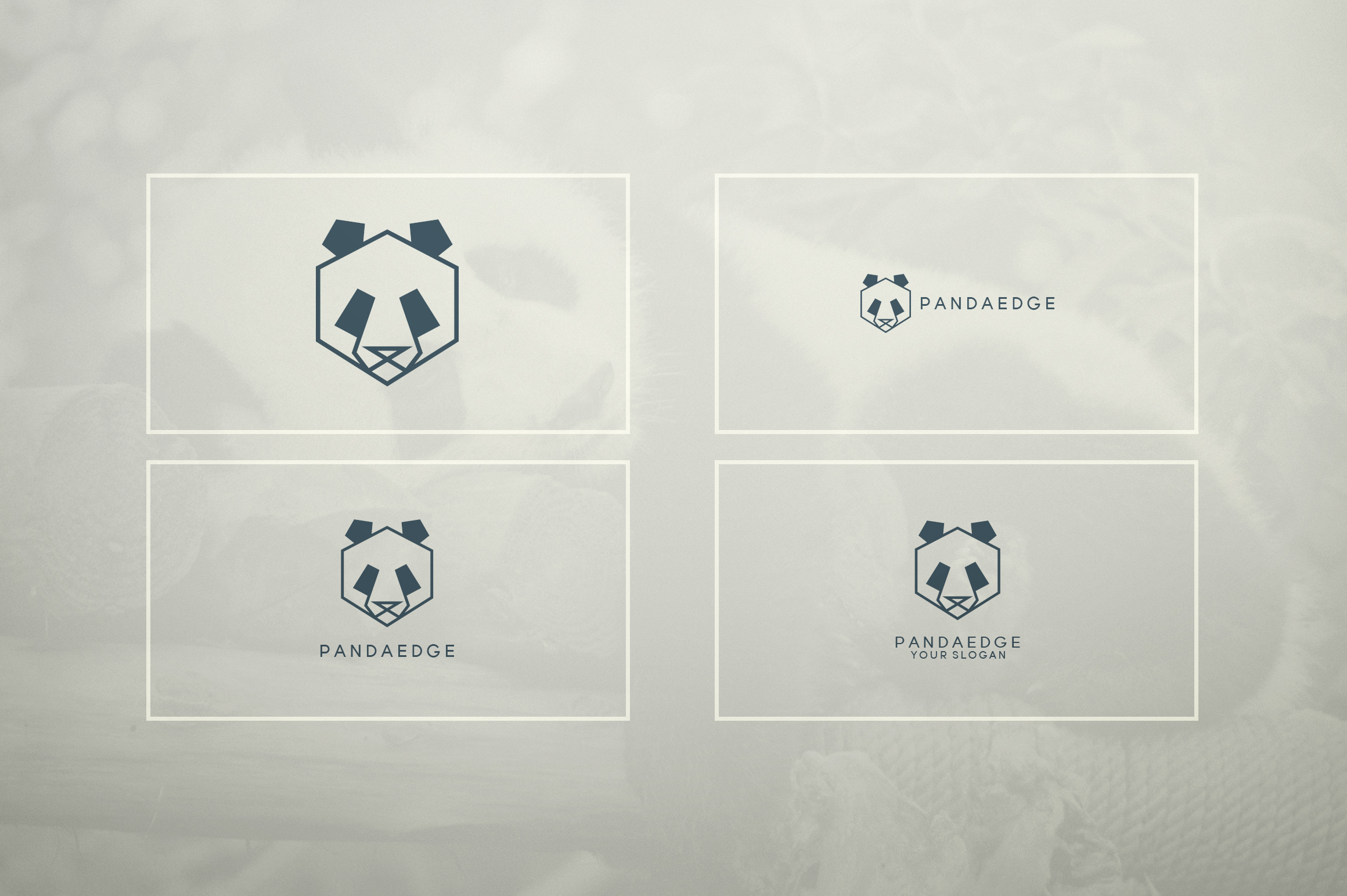 17 Geometric Animal Icons and Logos example image 13