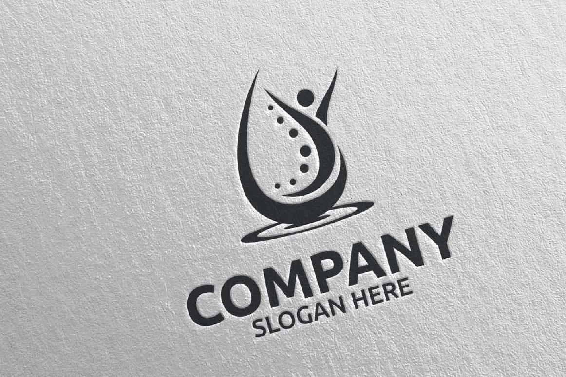 Massage Logo Design 11 example image 4