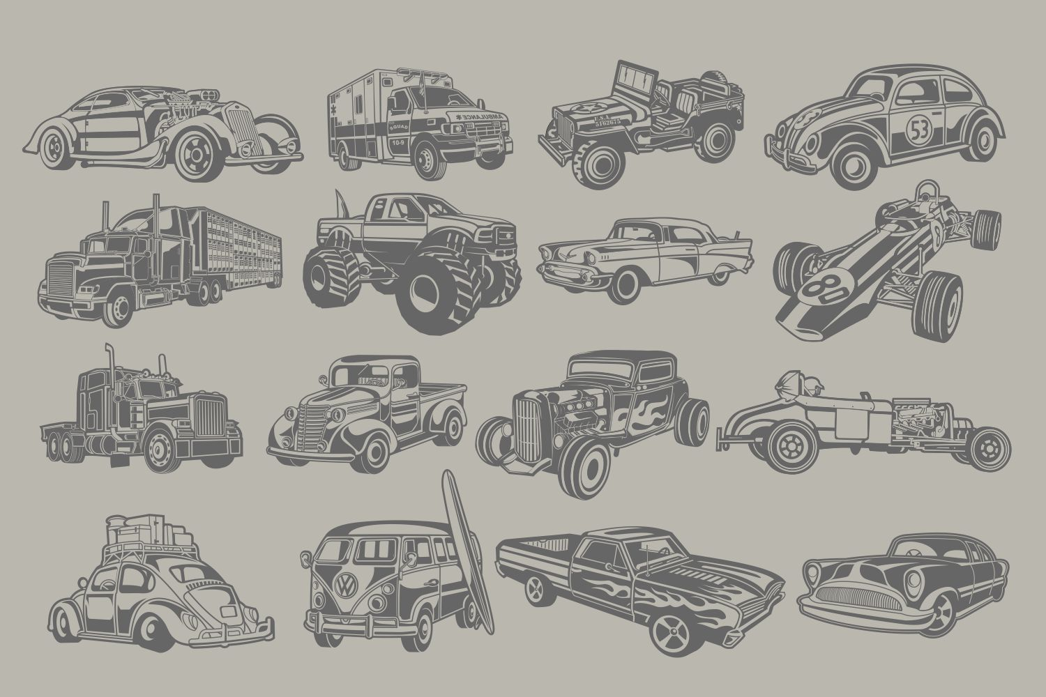 The Vector Bundle - 147 Vector Objects example image 4