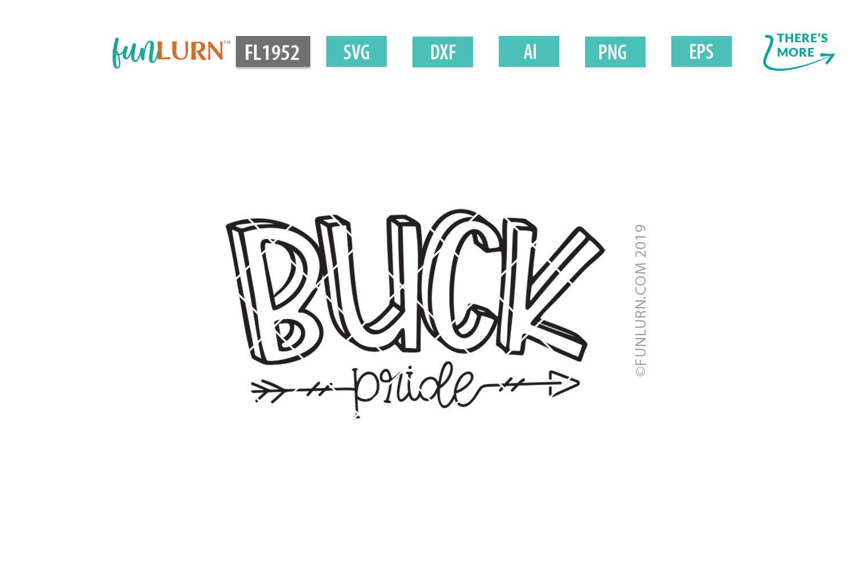 Buck Pride Team SVG Cut File example image 2