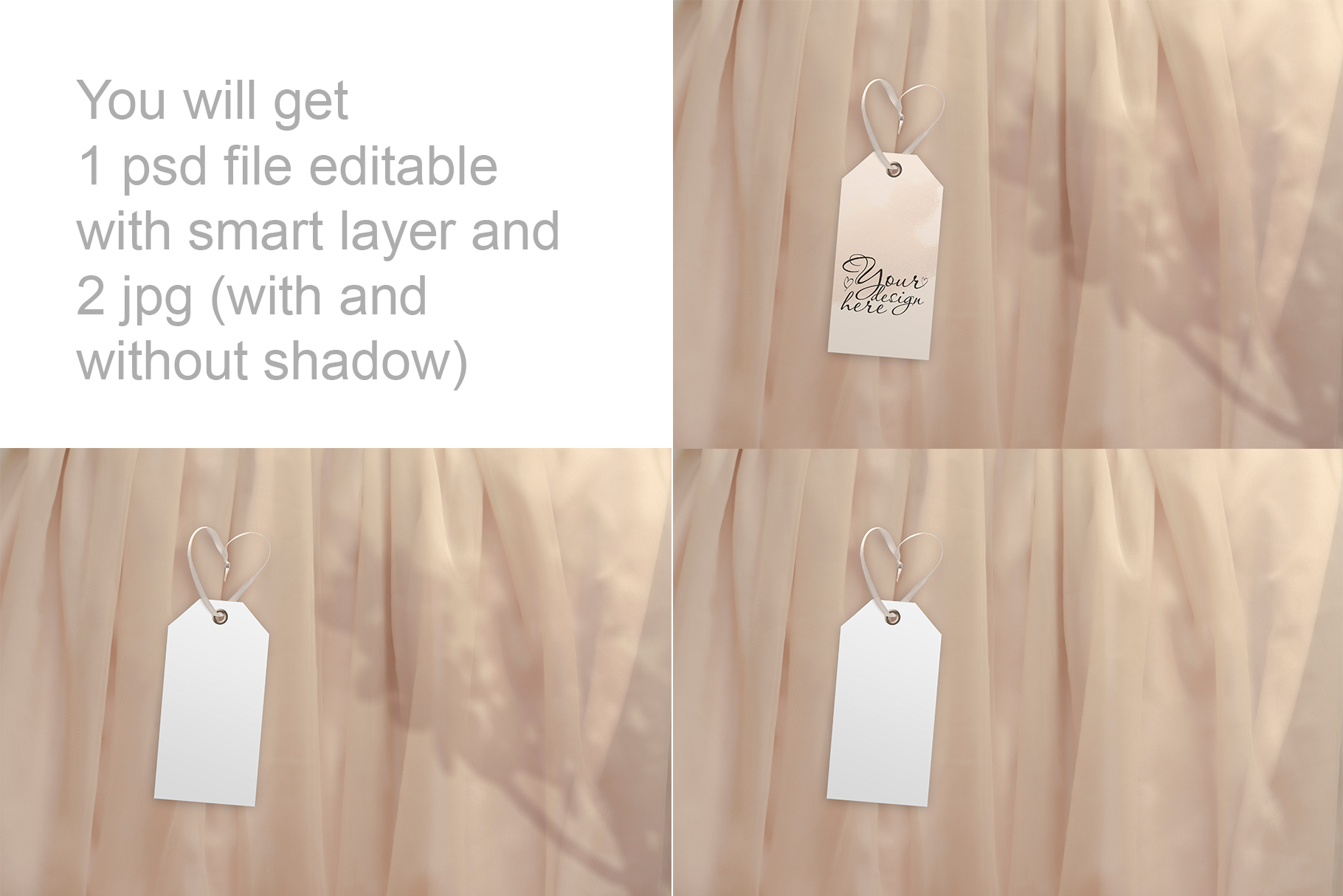 Label tag mockup example image 2