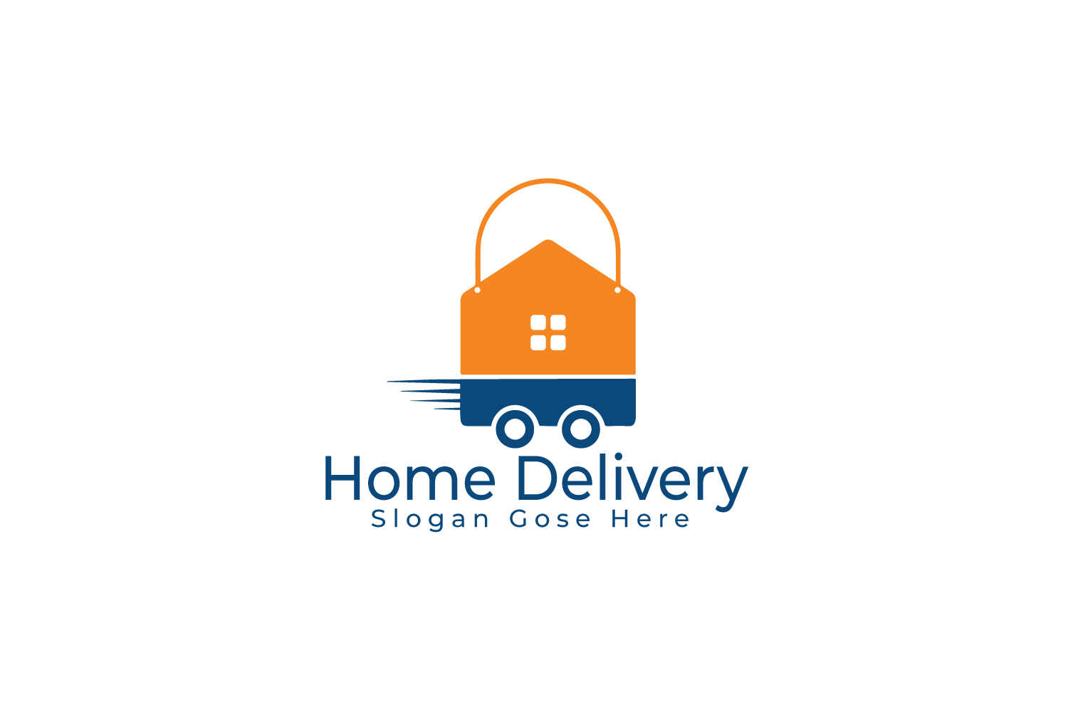 Home Delivery Logo Design. example image 2