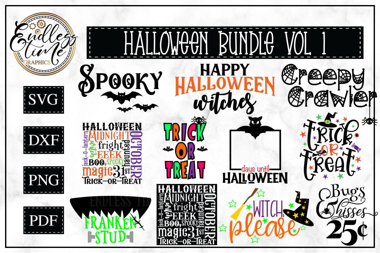 Halloween SVG Bundle example image 1