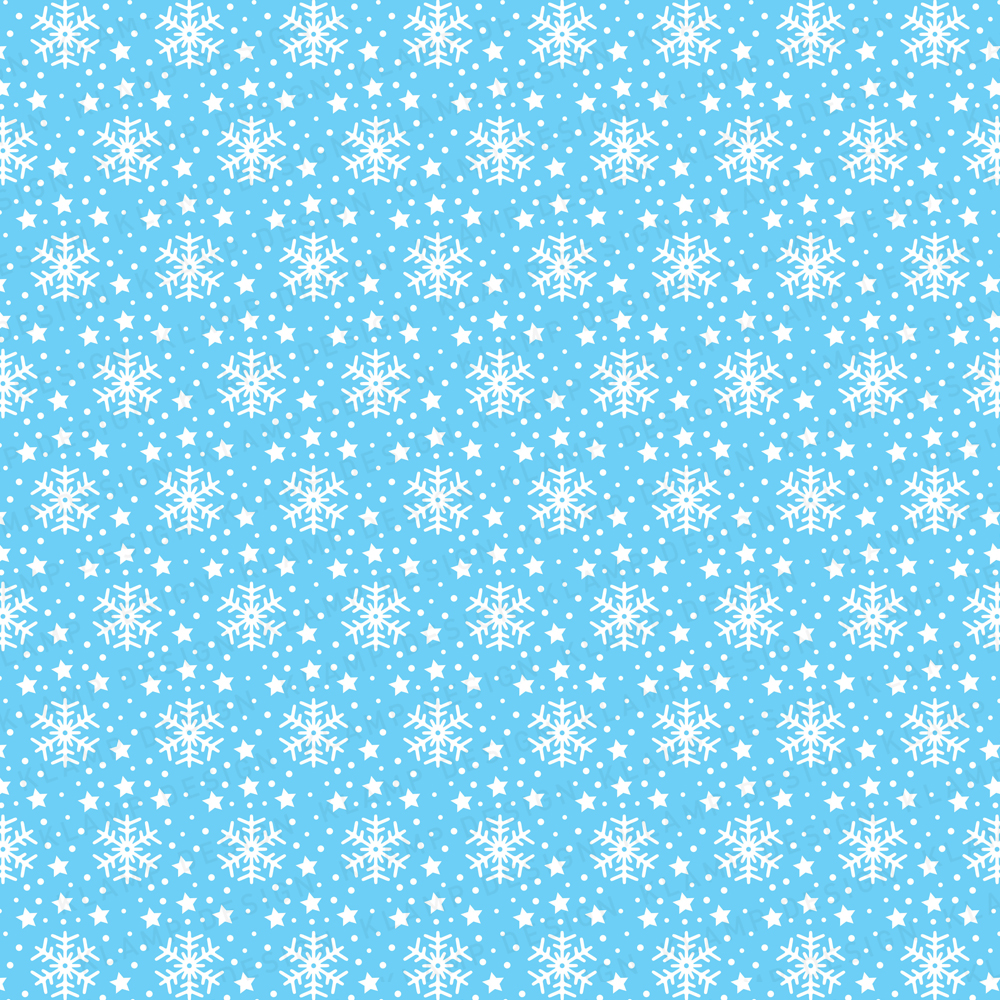 Snowflakes Christmas Digital Paper Pack / Backgrounds / Scrapbooking / Patterns / Printables / Card Making example image 2