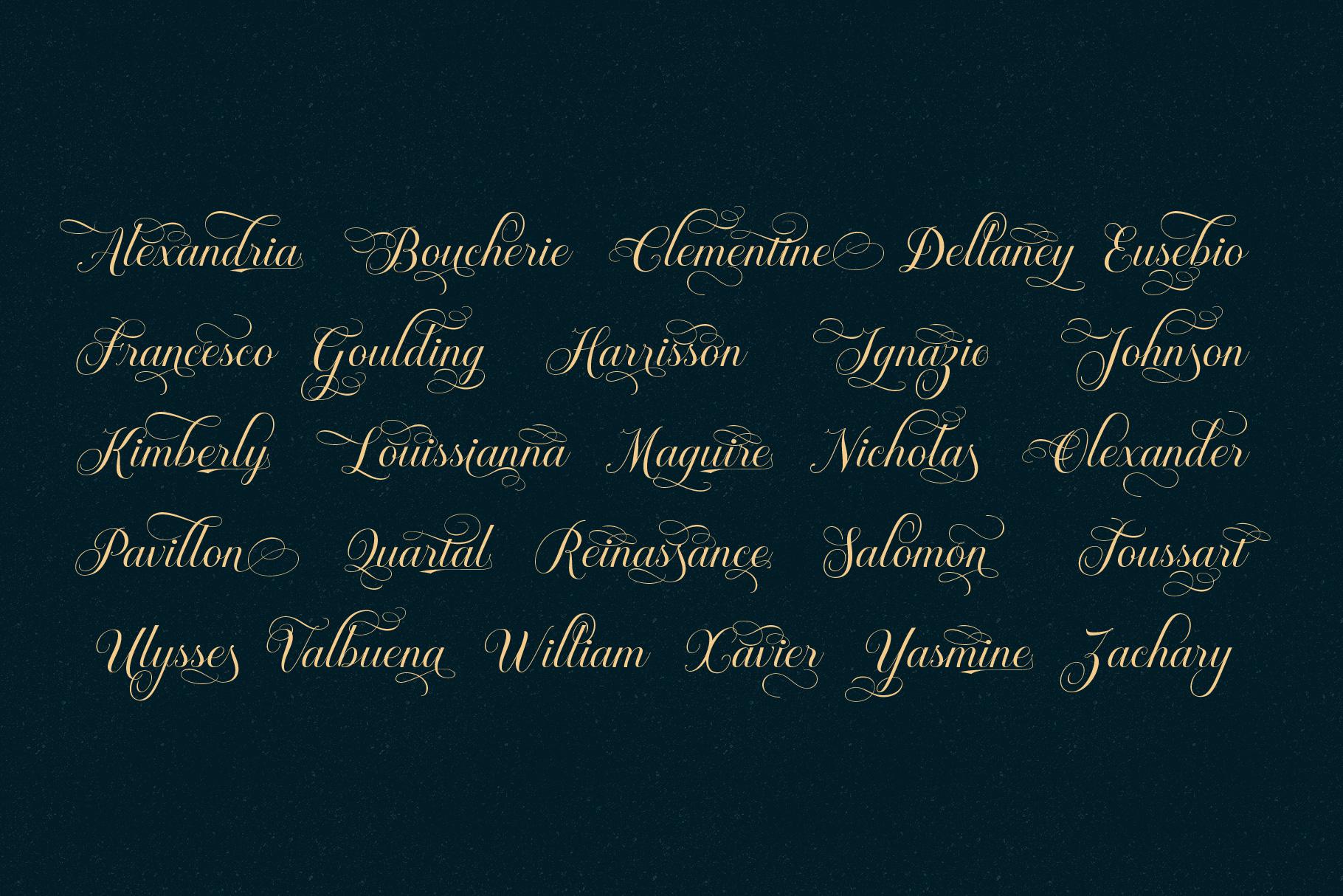 Brignola Elegant Calligraphy example image 7