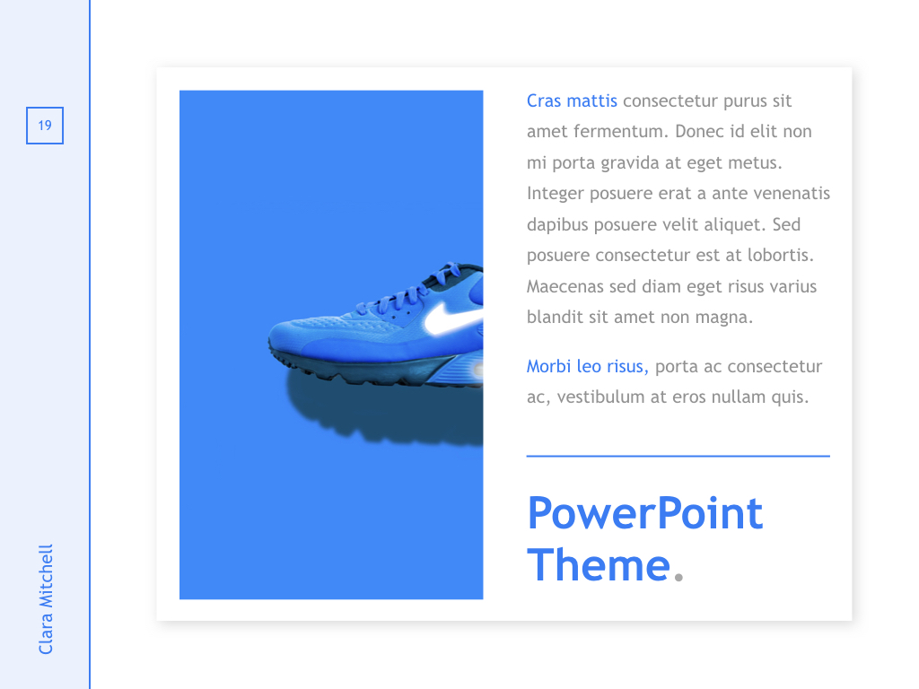Fashion Designer PowerPoint Template example image 19