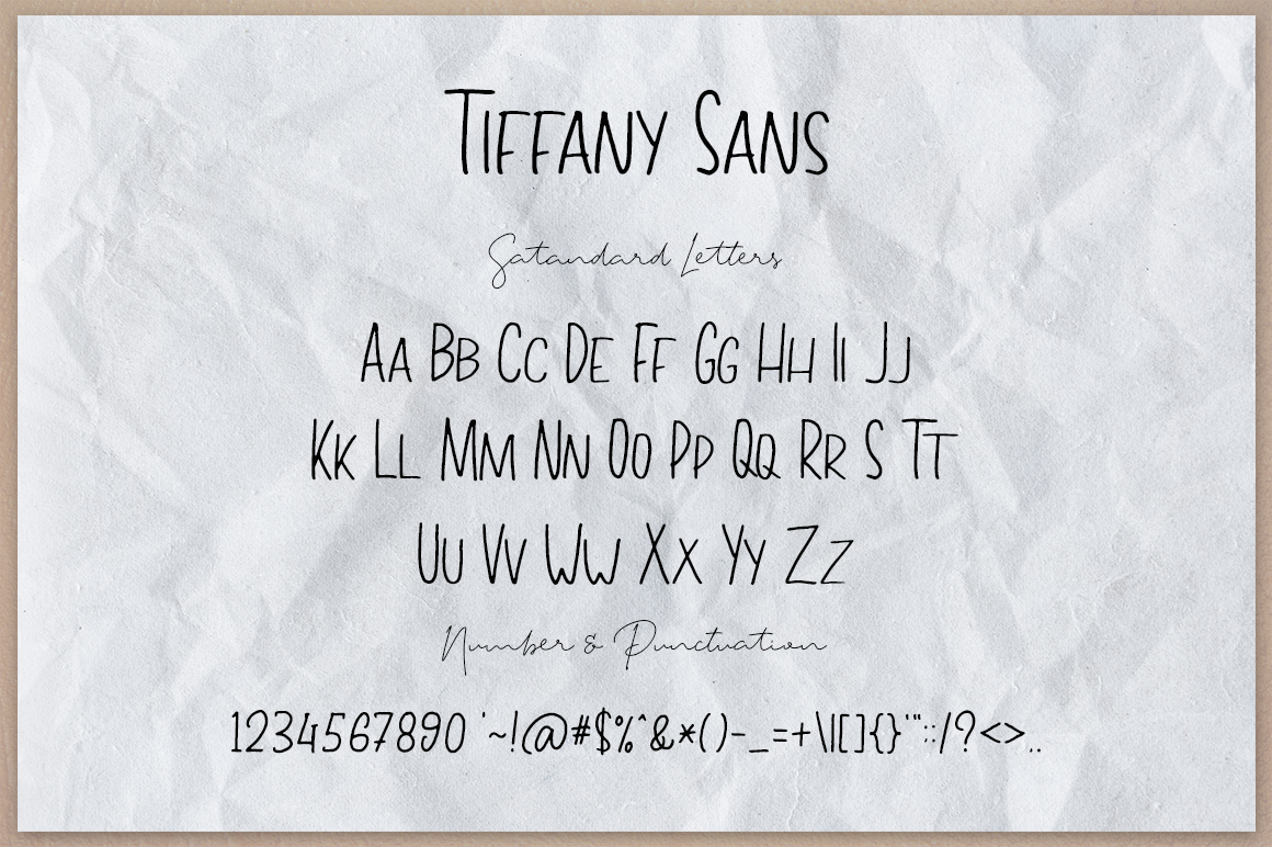 Tiffany Script example image 13