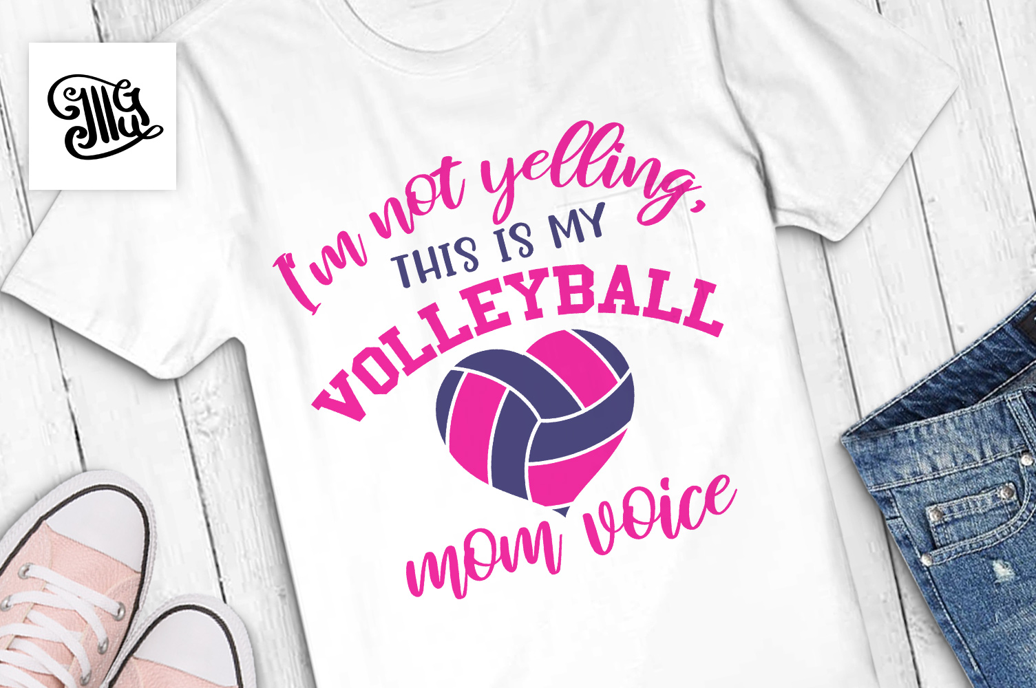 Volleyball svg bundle example image 11