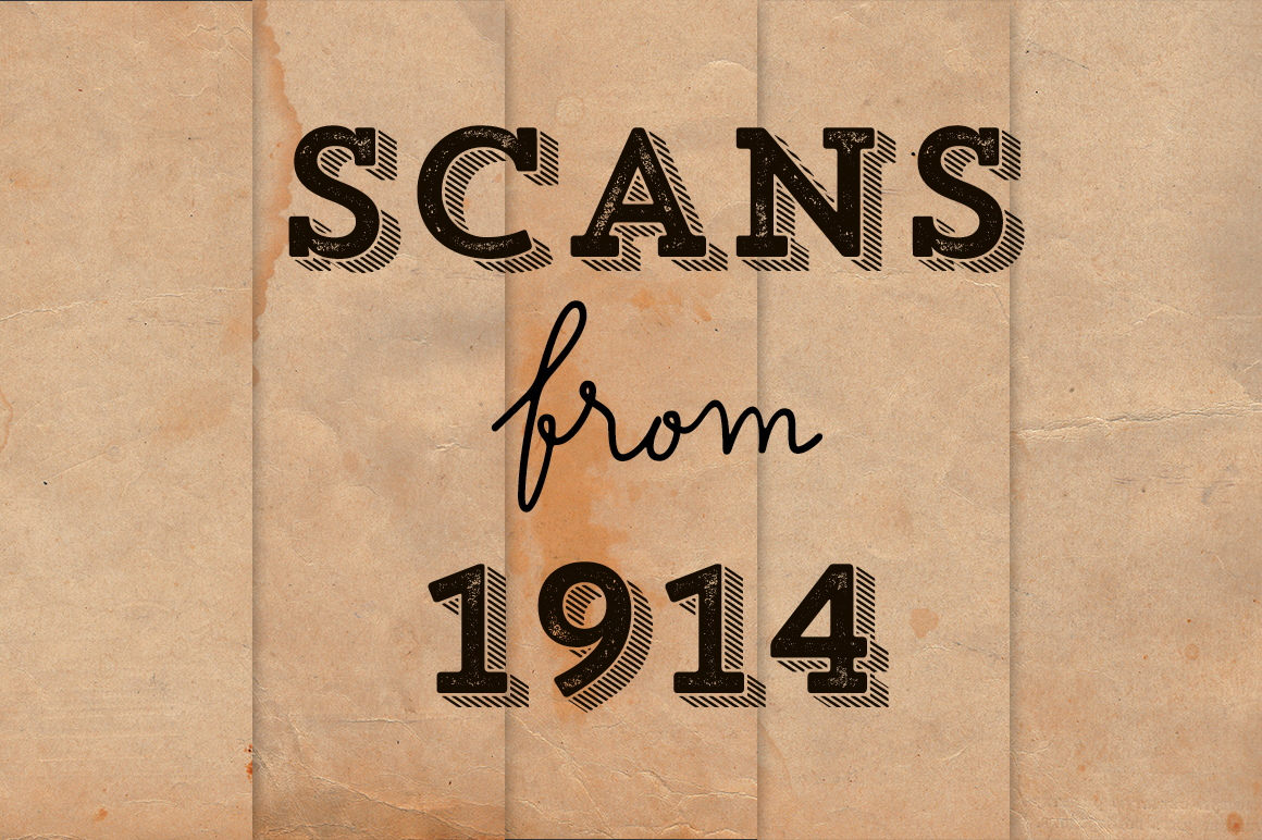 Scans from 1914 Paper Pack+Freebies example image 1