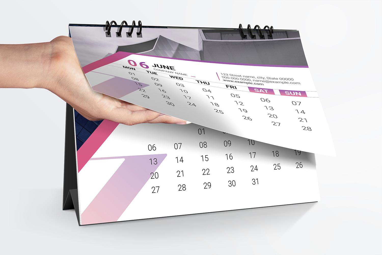 Desk Calendar 2020 example image 4