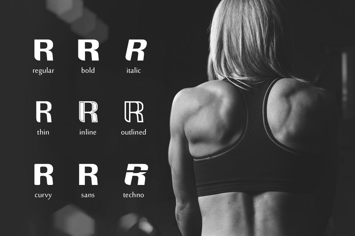 Rockrace Font Family example image 2