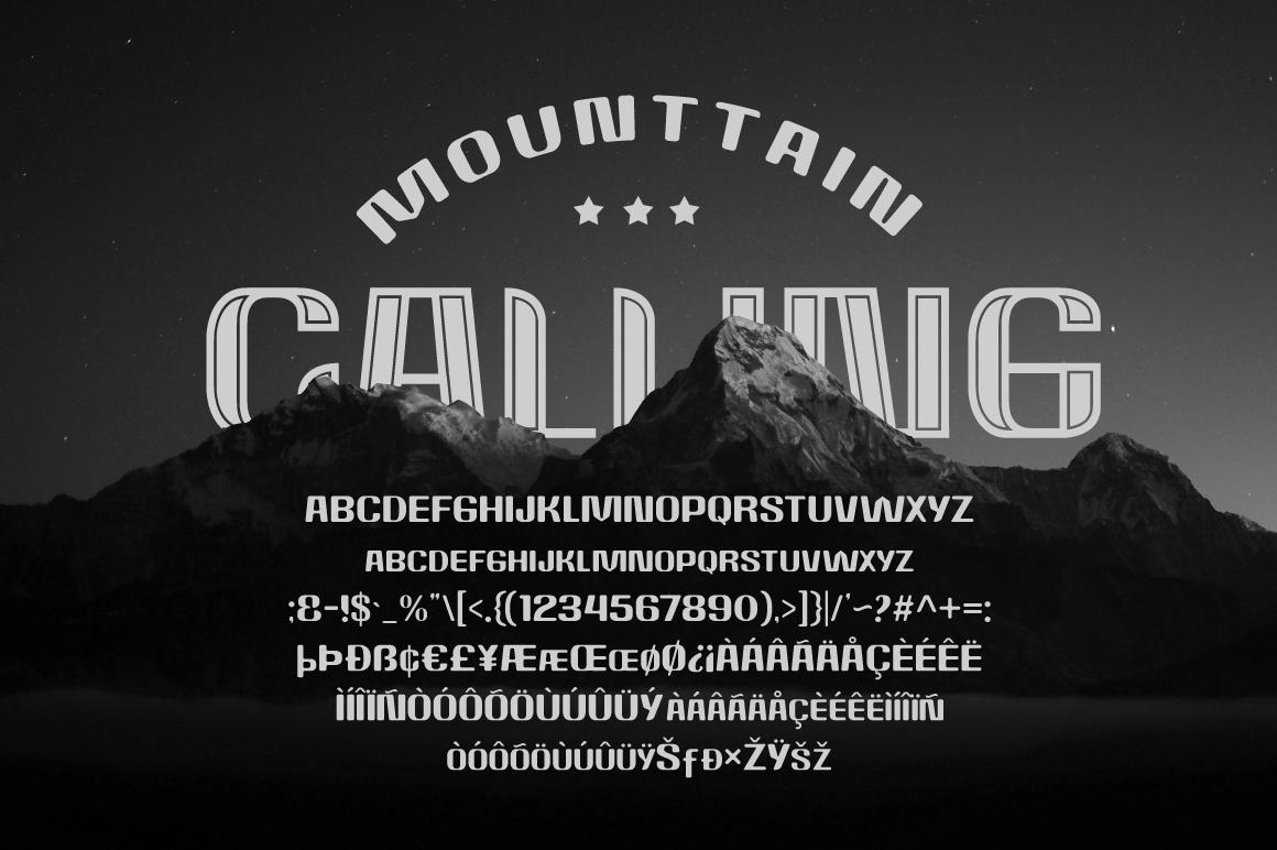Rockrace Font Family example image 5