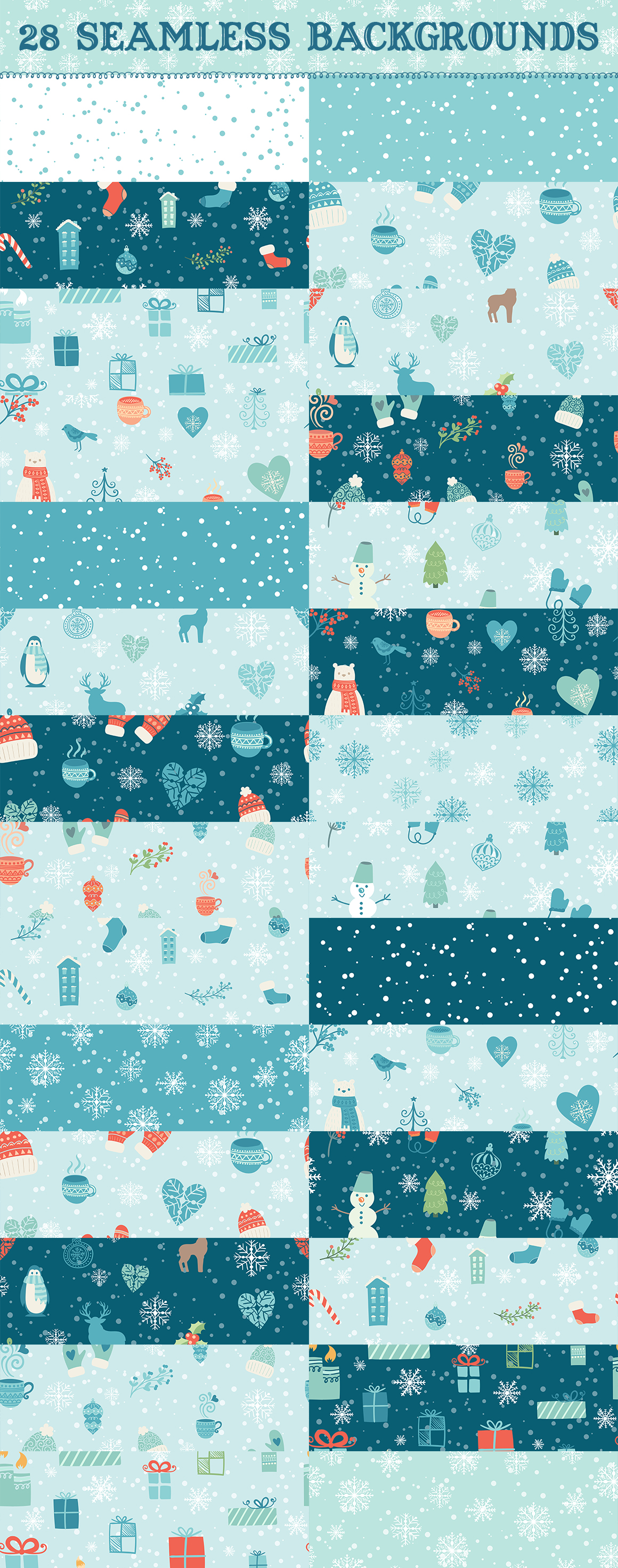 Big Christmas elements collection example image 3