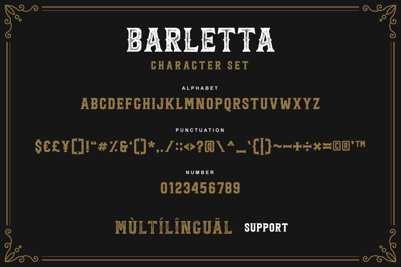 Barletta - Vintage Serif Font example image 6