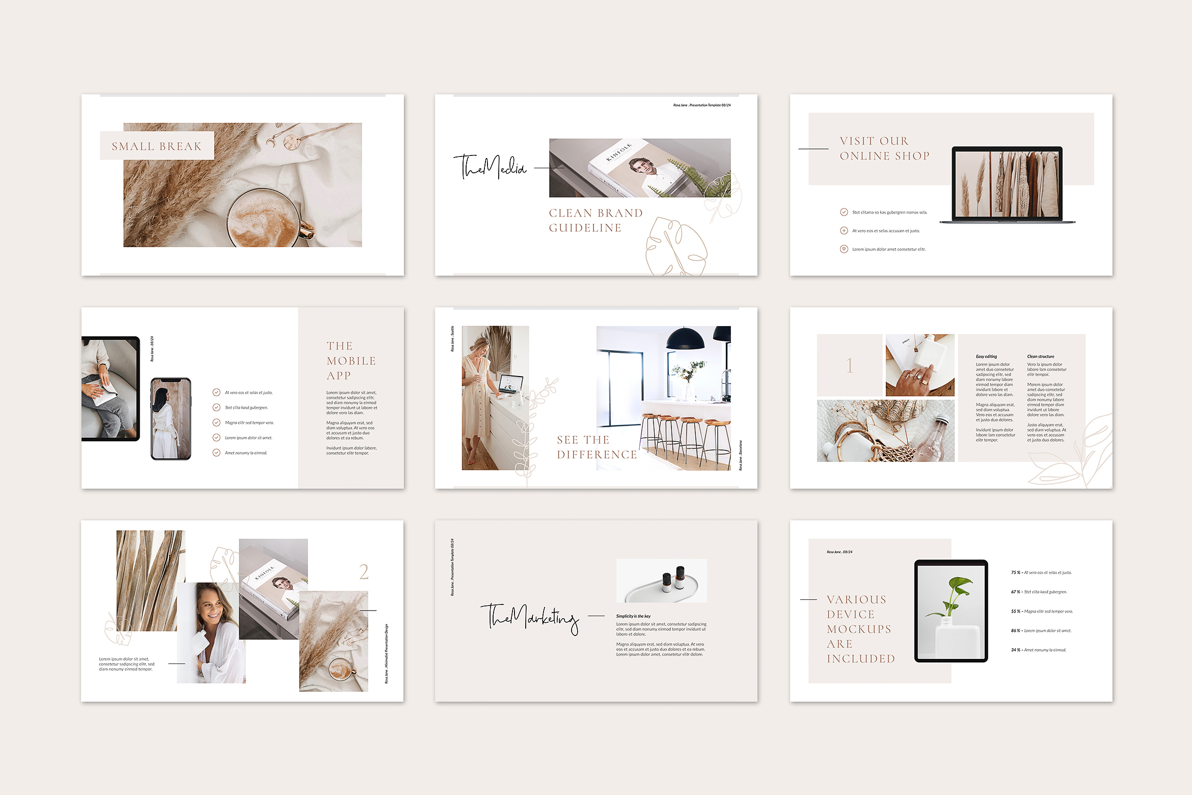 Rosa Jane Keynote Template example image 7