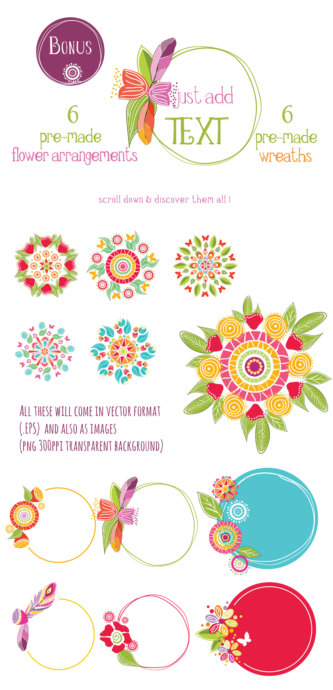 Playful Summer Colorful Bohemian example image 20