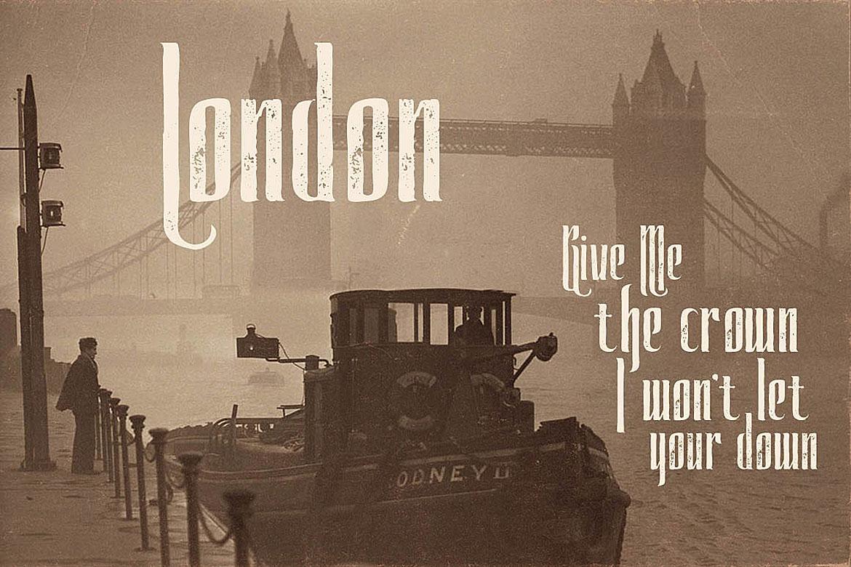 Watson - Vintage Display Font example image 3