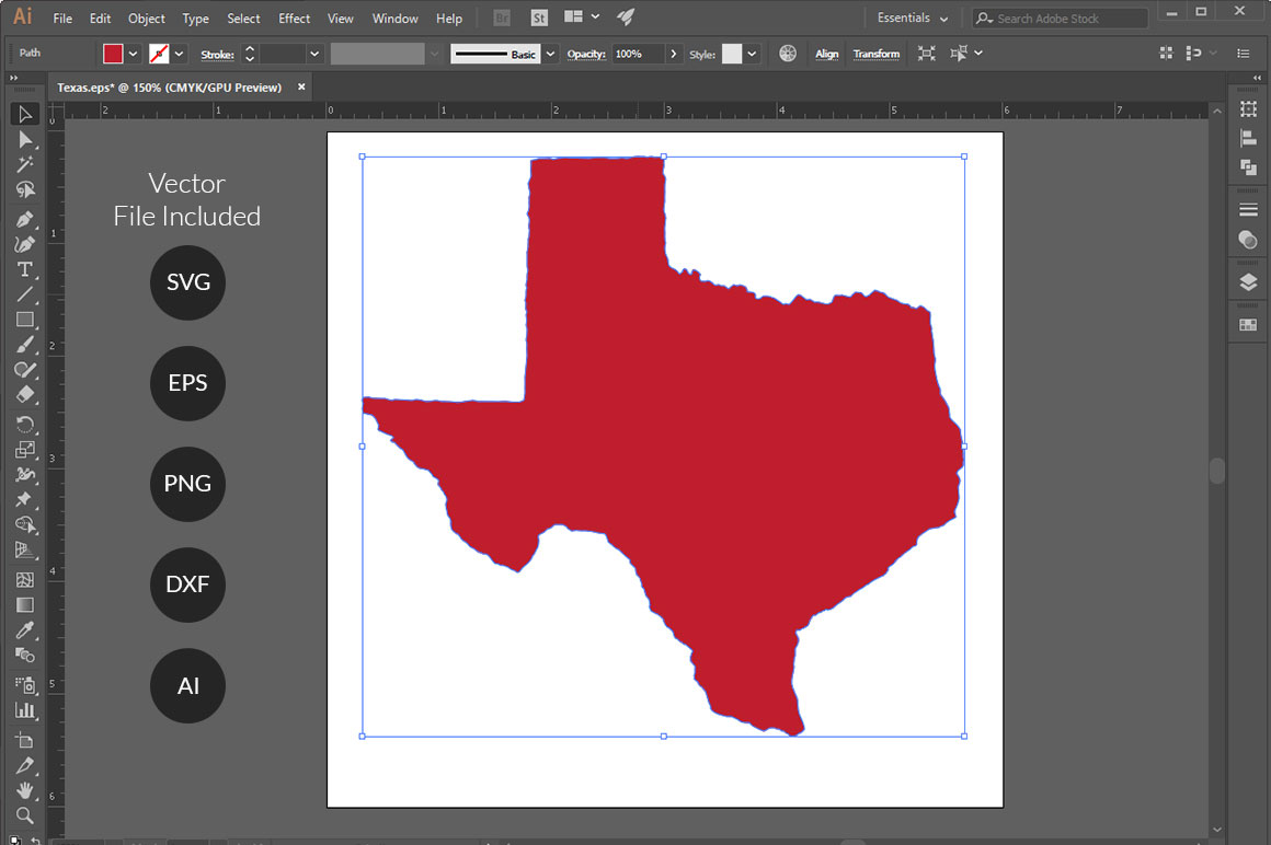 US States 4th July design Element svg example image 12