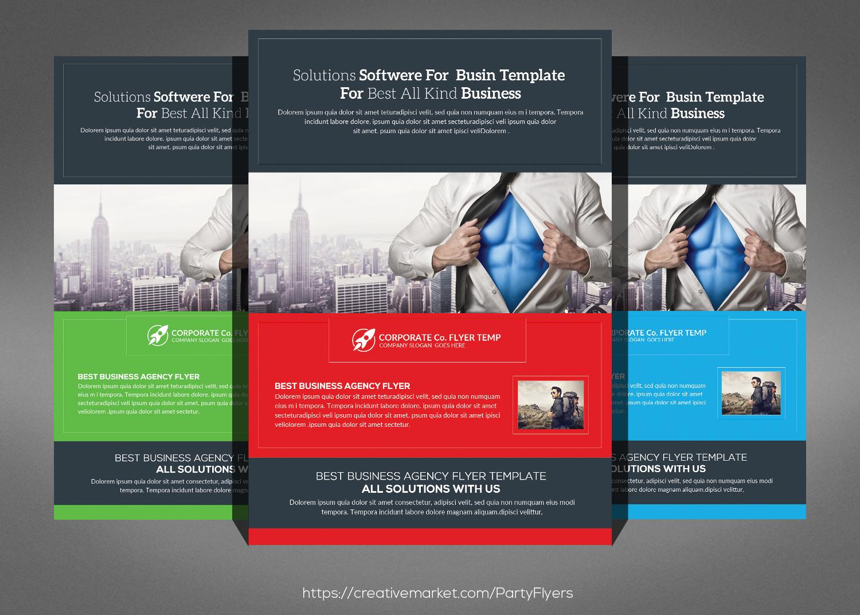 Corporate Business Flyer Bundle example image 5