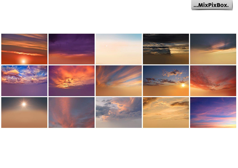Sunset Sky Photo Overlays example image 3