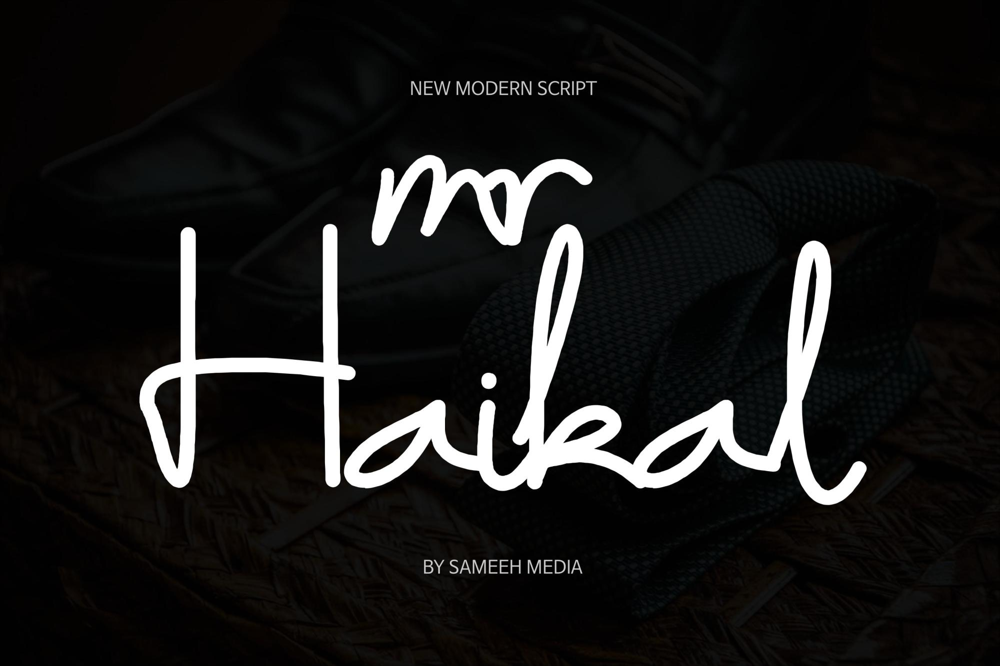 Mr Haikal example image 1