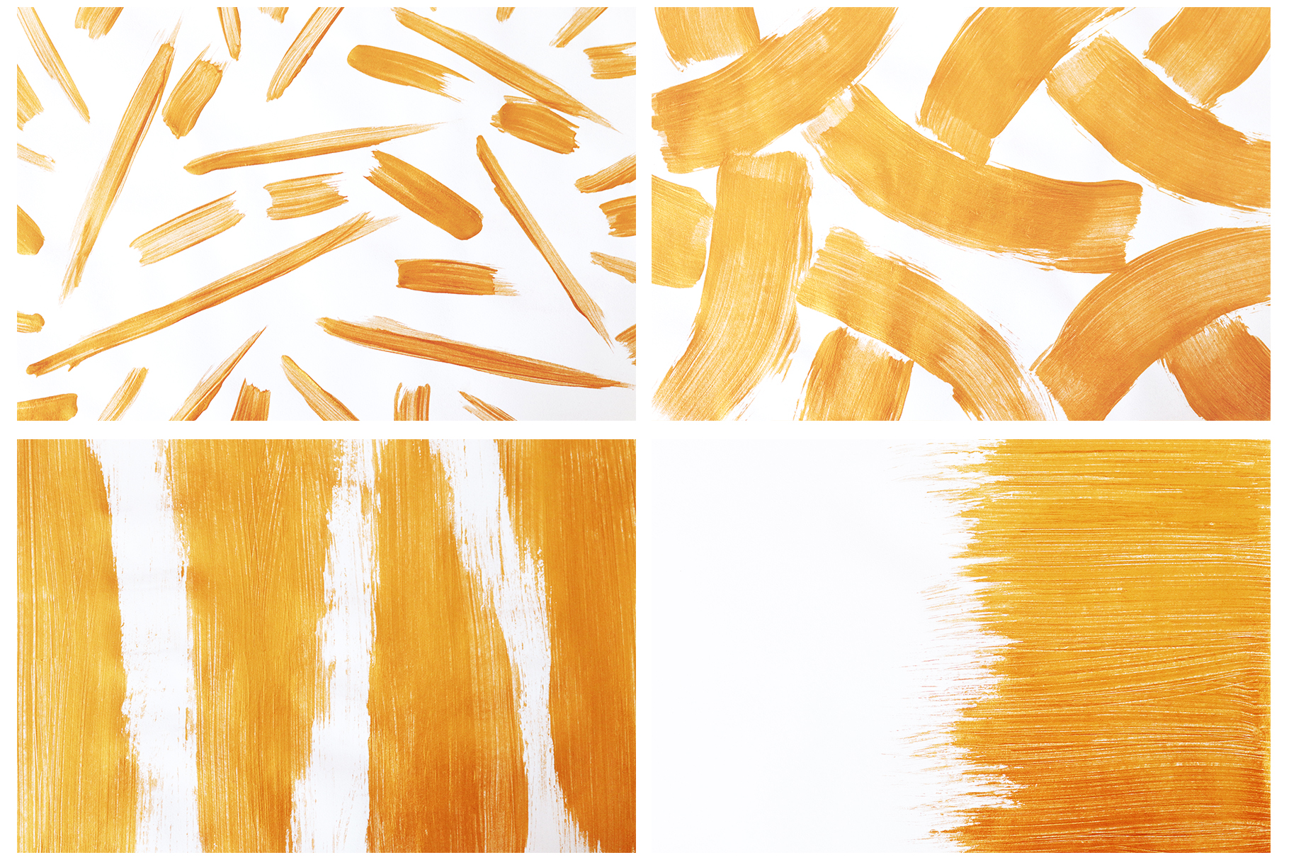 Gold & White Backgrounds, Wedding Invitation Papers example image 3