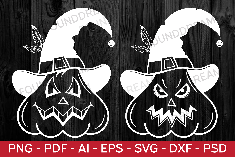 Halloween Pumpkins SVG   vector files example image 6