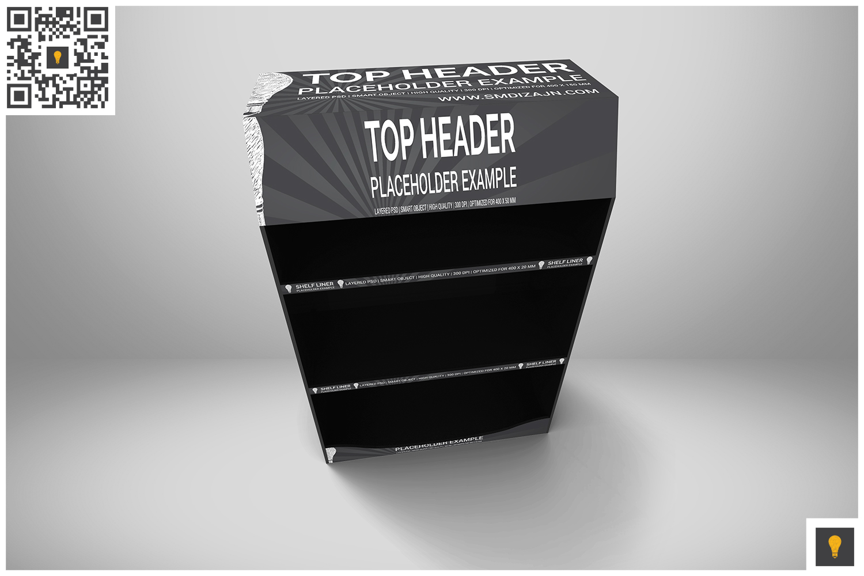 Promotional Shelf Display Mockup example image 5