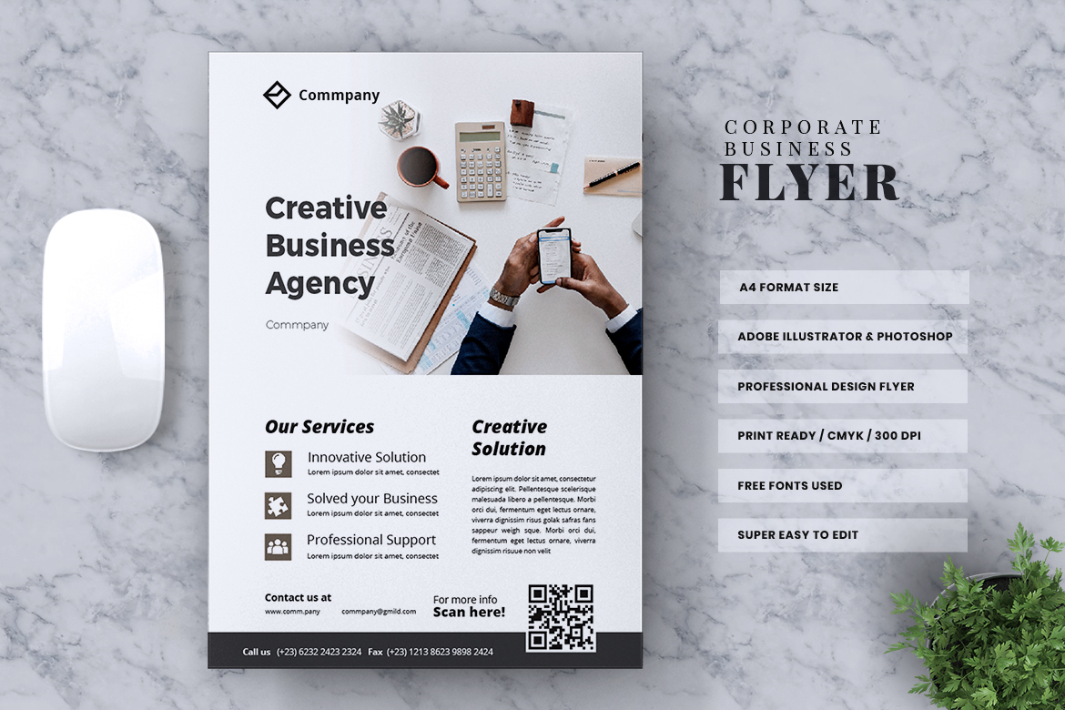 Corporate Business Flyer Vol. 13 example image 2