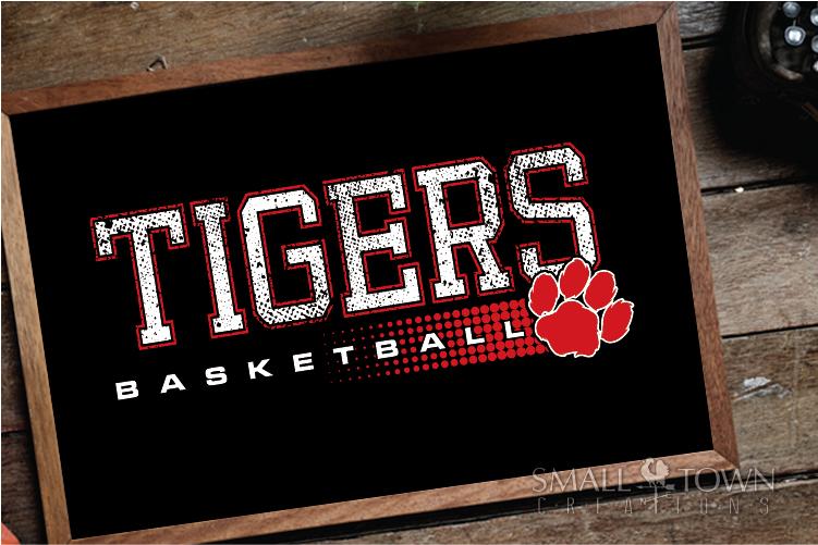Tigers basketball, tiger mascot, team, PRINT, CUT, DESIGN example image 14