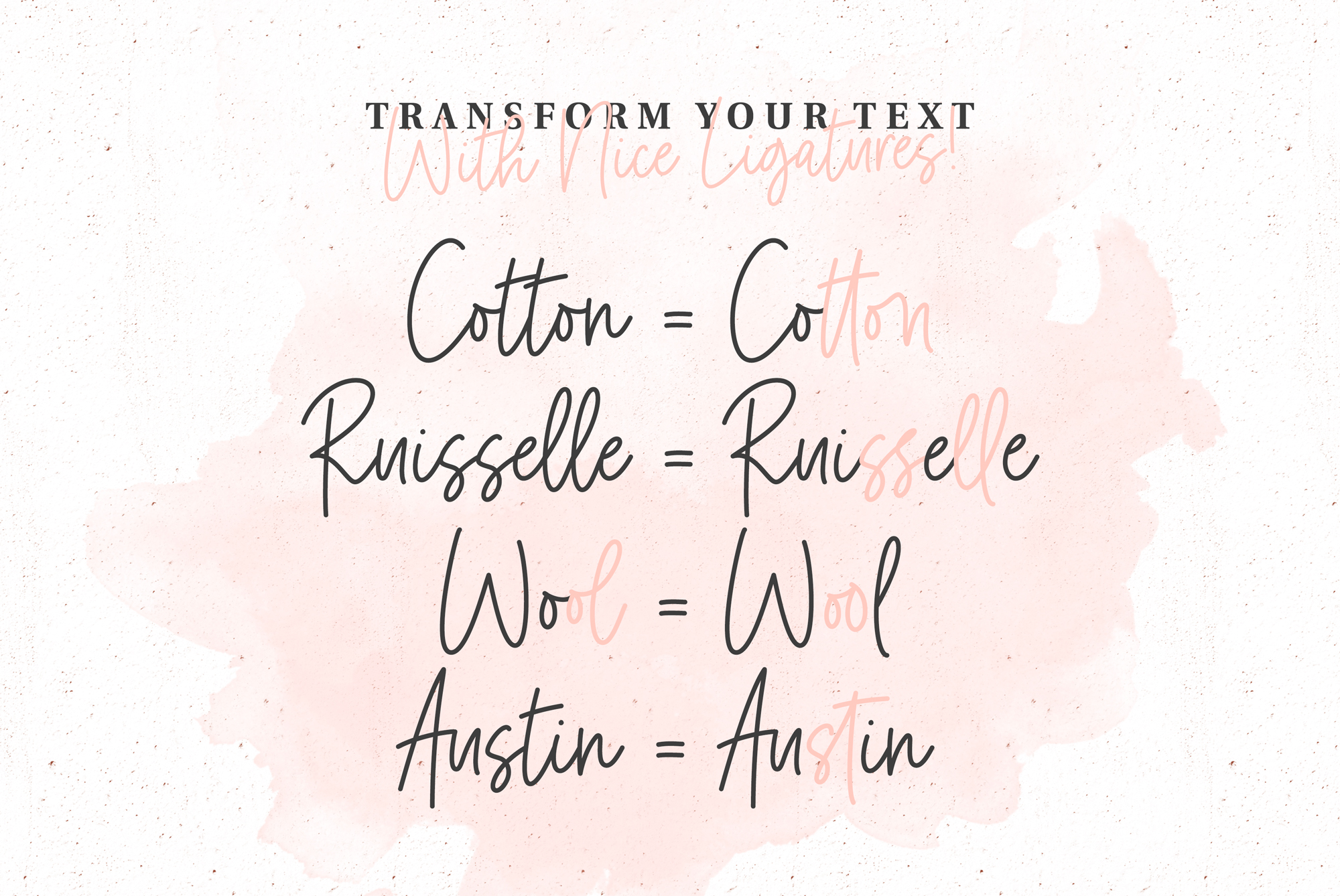 Marshmallow Handwritten Font example image 6