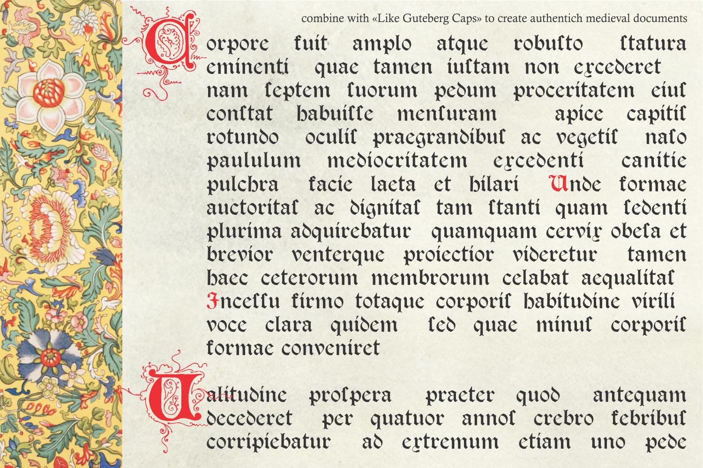Psalter Gotisch example image 6