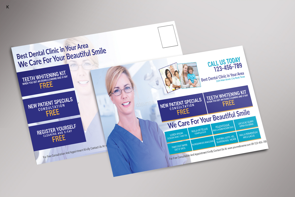 Dental Care Post Card example image 4