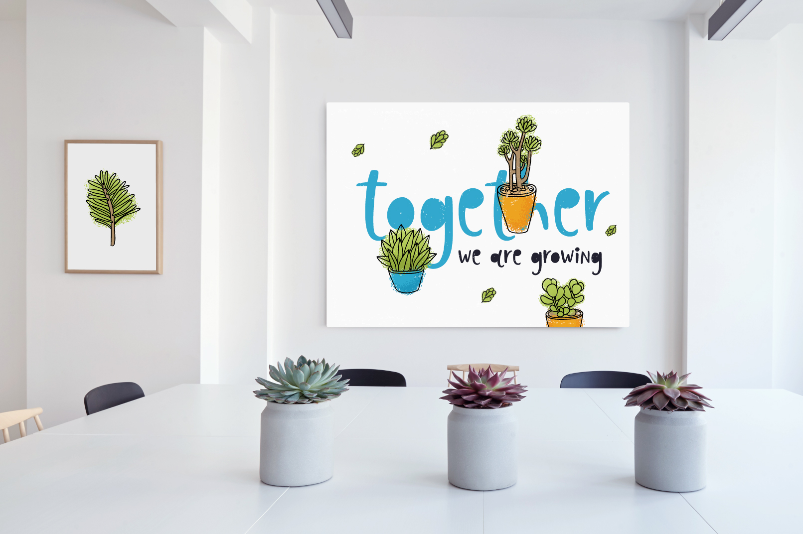 Succulents 14 vector illustrations example image 4
