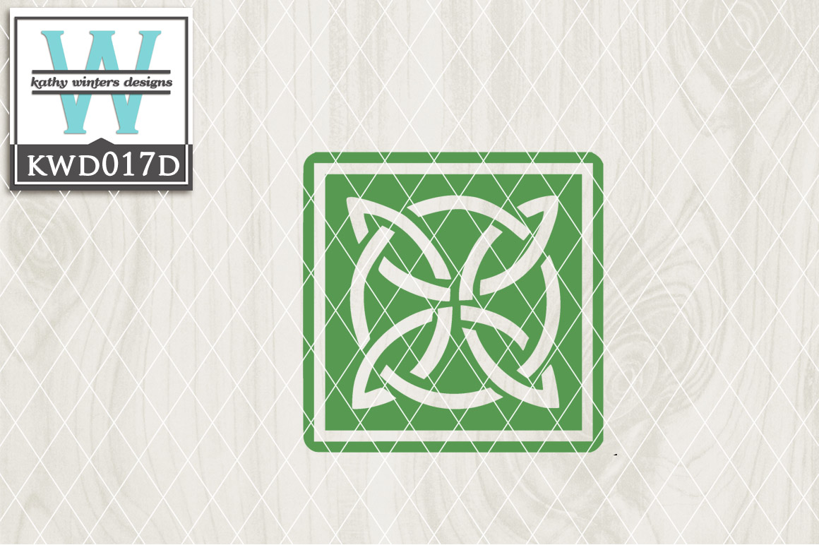 St. Patrick's Cutting File KWD017D example image 1